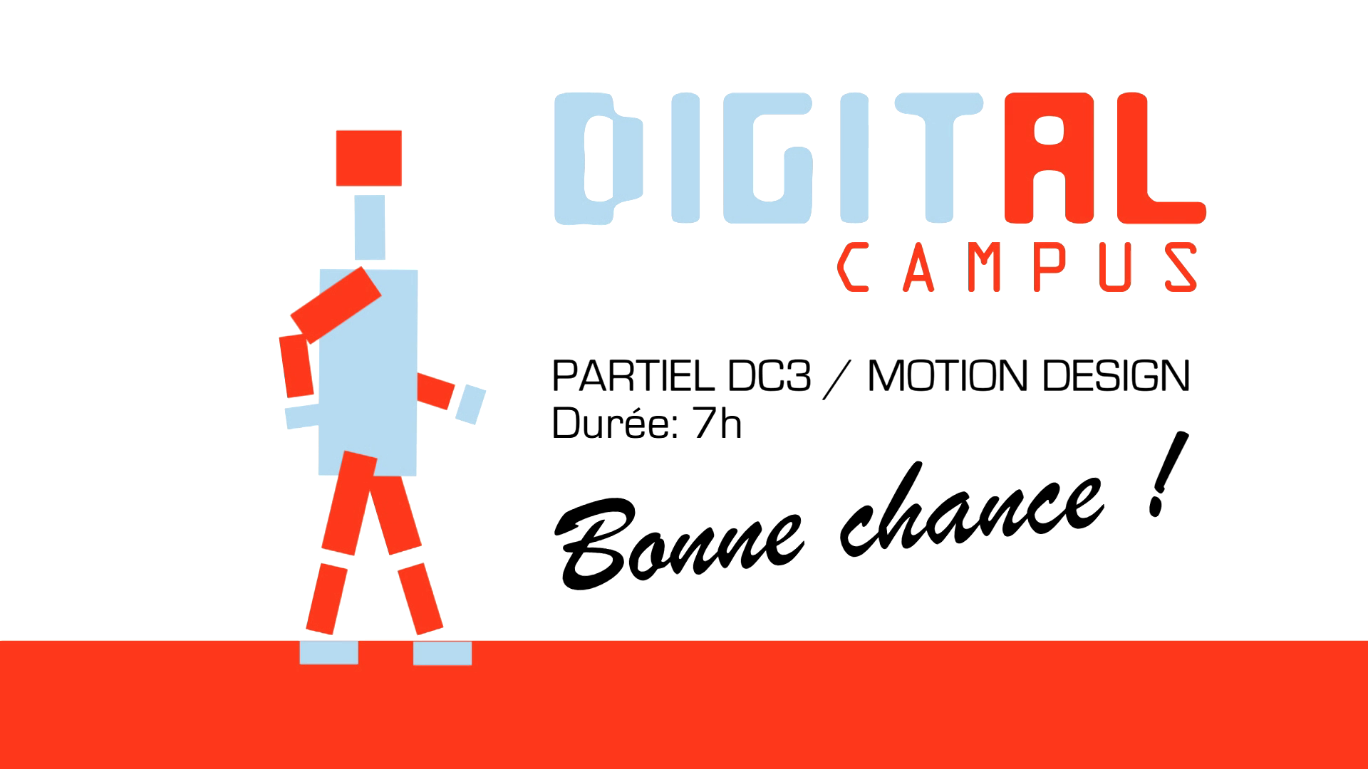 Partiel 2015 Motion Design DC3