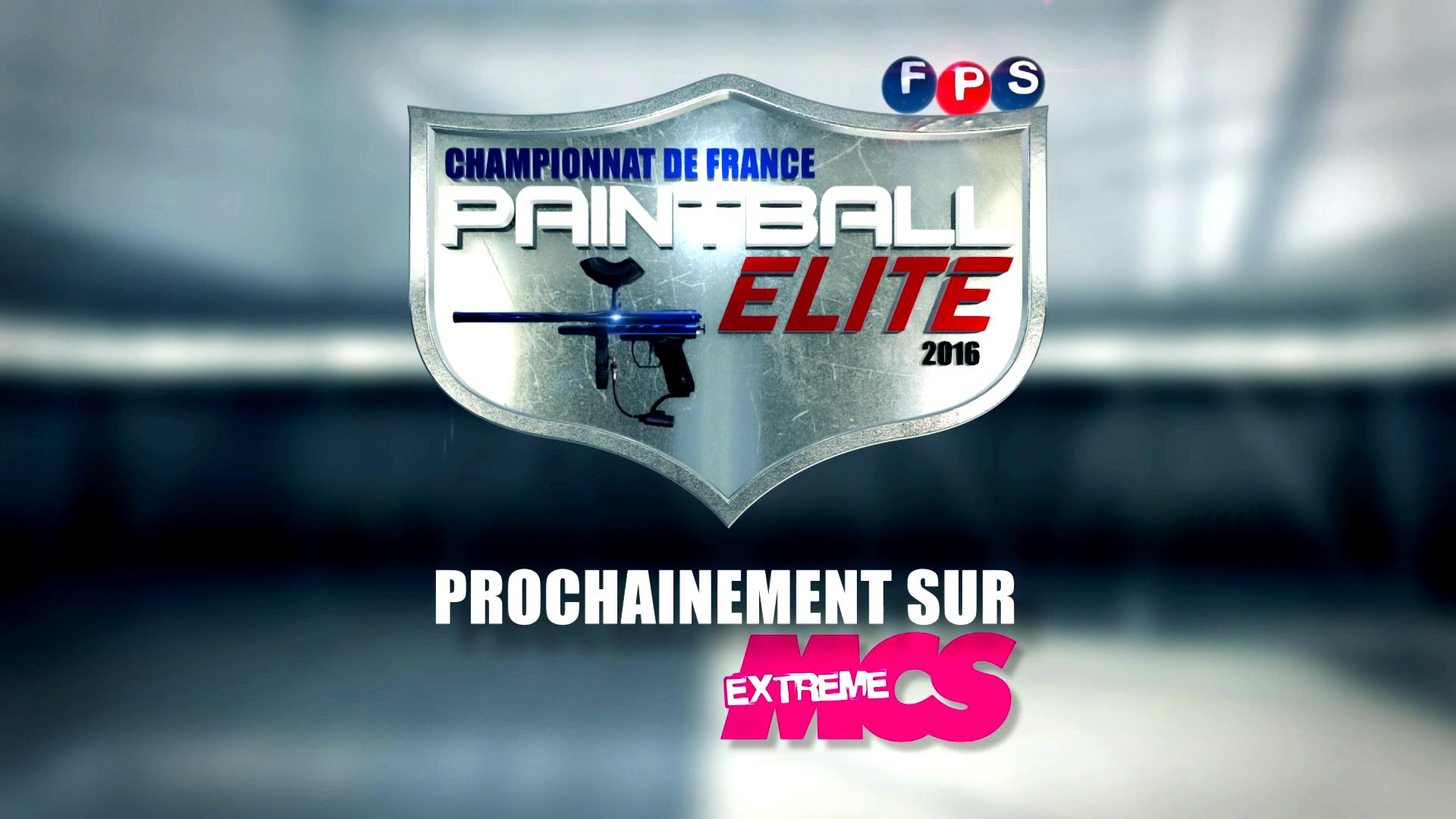 Teaser 2016 Programme TV: Paintball Elite