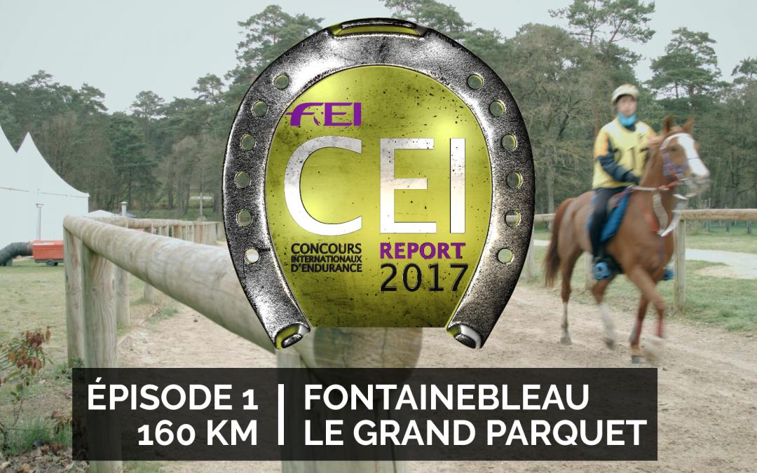 CEI Report E01 / Fontainebleau / 160 Km