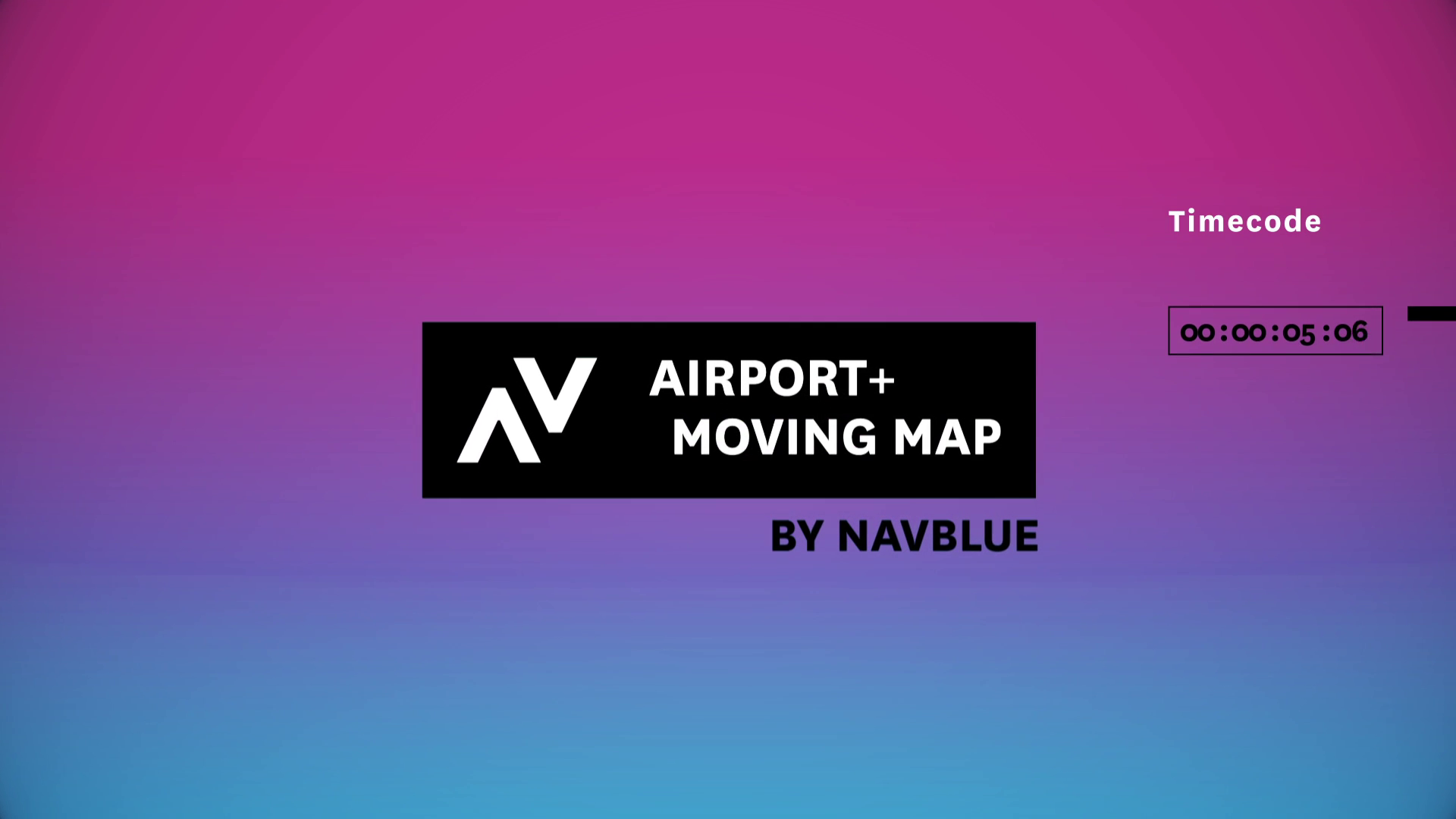NAVBLUE Airport+ Moving Map