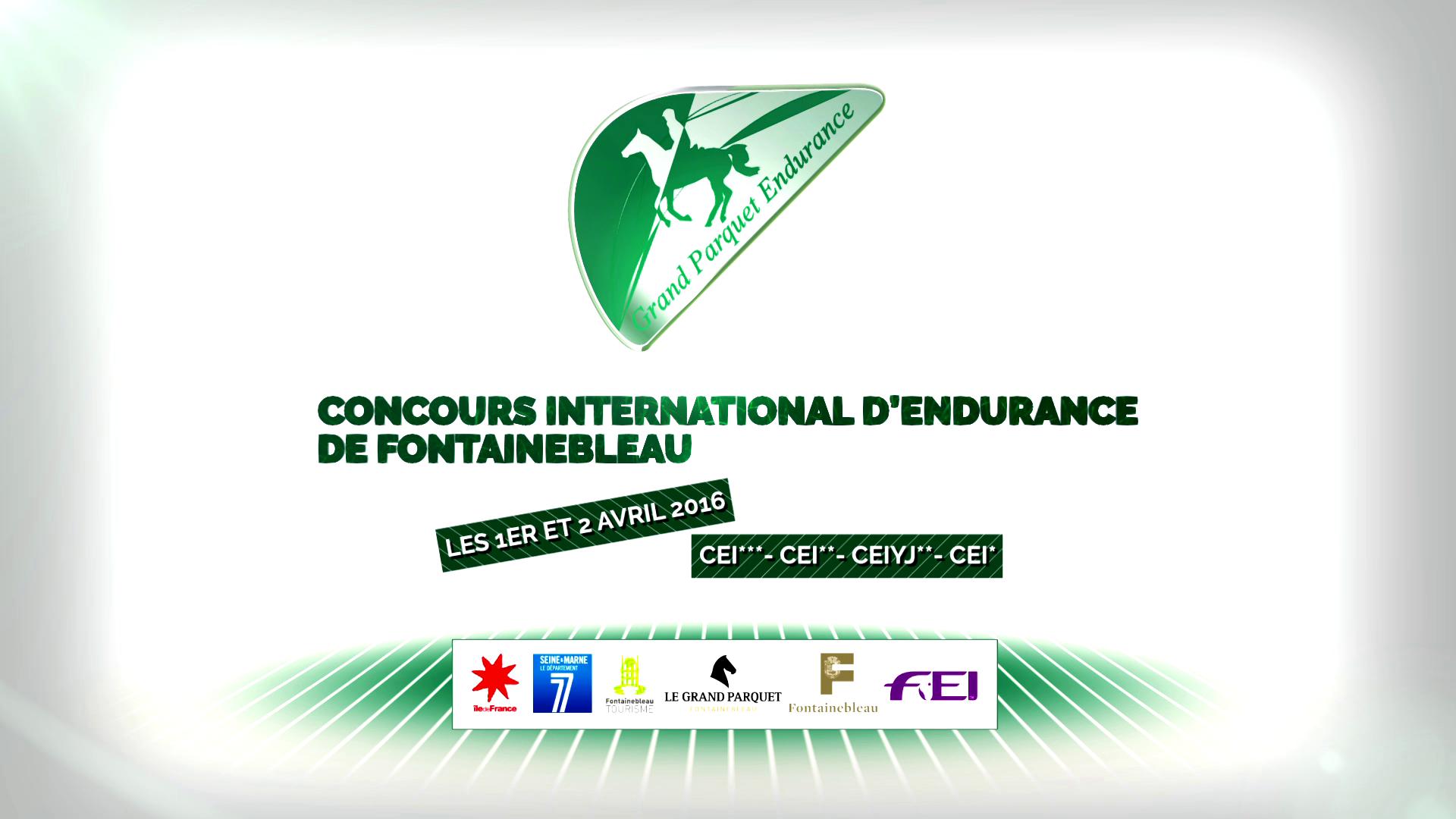 Teaser «CONCOURS INTERNATIONAL D'ENDURANCE DE FONTAINEBLEAU 2016»