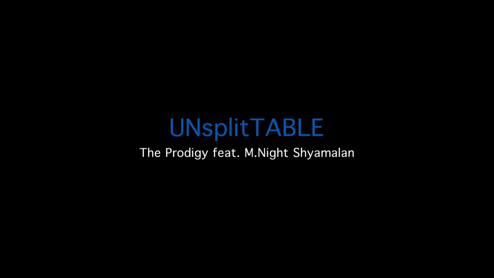 Unsplittable